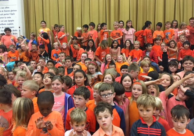 Orange Shirt Day at Macaulay – Every child matters!
