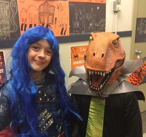 Halloween at Macaulay.