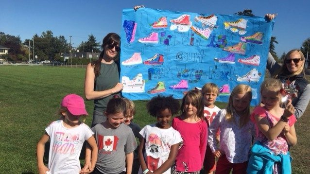 Terry Fox run at Macaulay. Thank you for all the support!