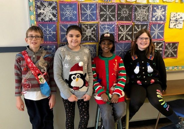 Ugly Winter Sweater Day