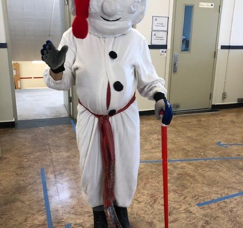 """Carnaval: """"Bonhomme"""" from Quebec City"""