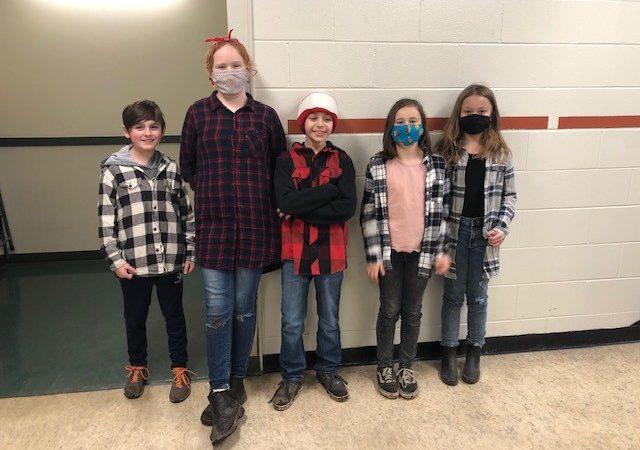 Carnaval: a few Lumberjack Students